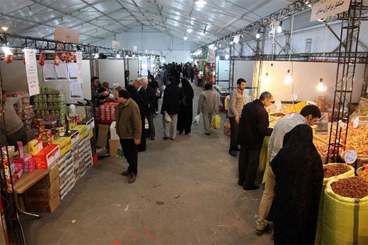 نمایشگاه بهاره در تهران - عکس داخل