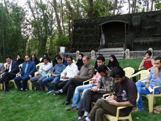 نشست ادبی در شهرستان ازنا (۳)