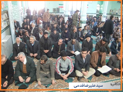 سلام کوهدشت - تصاویر نماز جمعه (۱۸)