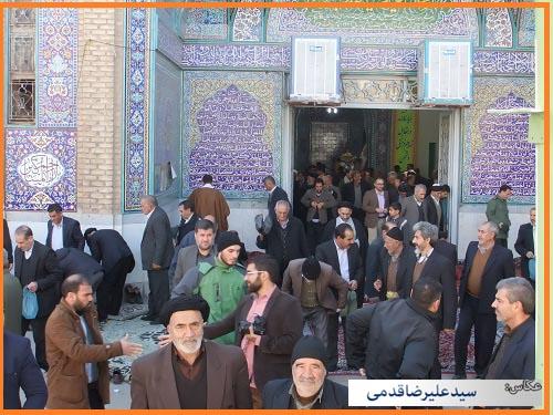 سلام کوهدشت - تصاویر نماز جمعه (۲)