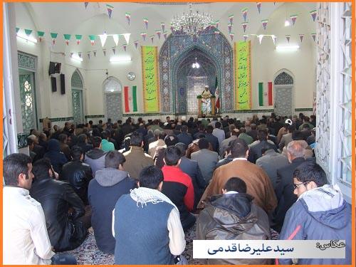 سلام کوهدشت - تصاویر نماز جمعه (۲۱)