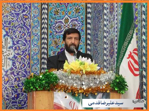 سلام کوهدشت - تصاویر نماز جمعه (۵)